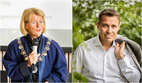 HVEM SA HVA? Rektor og styreleder Anne Husebekk ved Universitetet i Tromsø vil ikke opplyse om hvem som pekte på NHO-direktør Christian Chramer som ny styreleder ved samme institusjon.