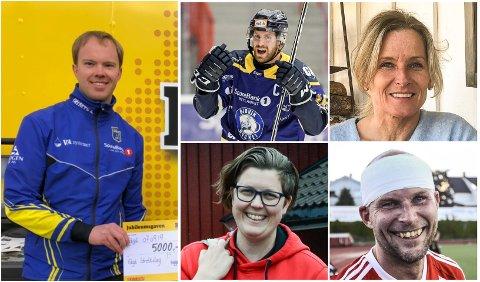NYANSATT: Anders Lien (t.v) flytter sørover for å sette sitt preg på idrettslivet i Gjøvik kommune.