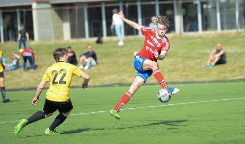 BLIR FANTASYSPILL: Kommende sesong kan du spiller Fantasy Innlandet, der 4. divisjonslagene i Indre Østland Fotballkrets spiller hovedrollene. Her Engerdal-spiller Magnus Lagmannsveen.