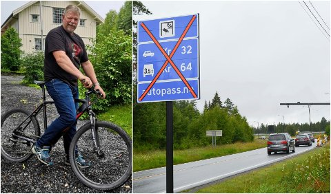 KRITISK: Jon Vie, som bor på Midtskogen, er kritisk til at gamlevegen blir bomfri fram til nyttår.