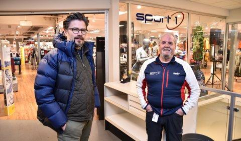 IKKE SLIK DE HÅPET: – Det viktigste er folks helse, sier Tore Søsveen (til venstre) og Steinar Jensen.