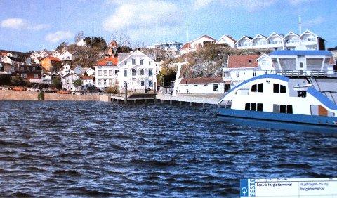 GÅR RETT I OPPLAG: Styret i fergeselskapet innstiller på at representantskapet vedtar at den nye elektriske fergen «Sandøy» går rett i opplag når den ankommer Brevik, og at dagens bilferge «Oksøy» fortsetter fergedriften inntil de nye fergekaiene i Brevik og på Sandøya er på plass.