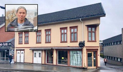 NYTT SELSKAP: Tidligere PD-fotograf Danny Twang har gjennom selskapet Twang & Haglund Eiendom AS ervervet seg Storgata 108.