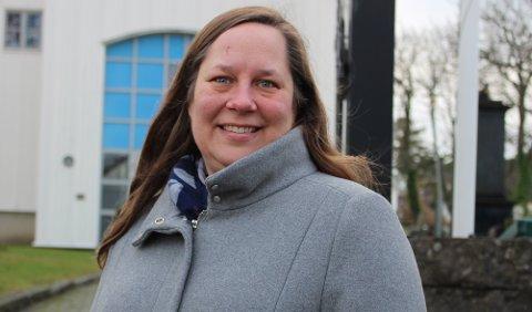I GANG: Margrete Holmeide er på plass som ny sokneprest i Langesund. Men på grunn av covid-19, ble innsettelsesgudstjenesten som skulle vært søndag, utsatt til mai.