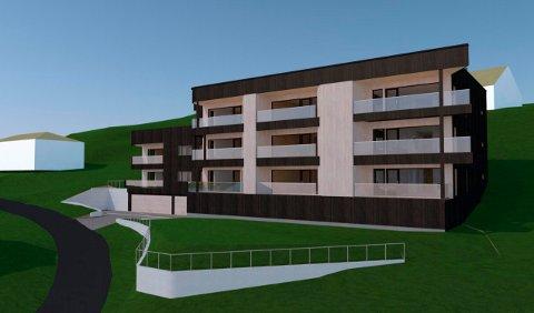 Prosjektet i Bergmannsveien 31 blir Ranas første leilighetsbygg i massivtre. Nå er utbyggerselskapet bak konkurs