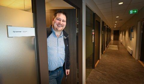 Økning: Stein Espen Bøe hos SINTEF Helgeland AS opplever stor økning og må nå ansette flere.
