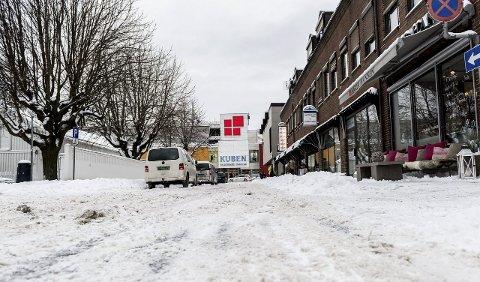 Forslaget om gågate i Norderhovsgaten og deler av Kong Rings gate har skapt heftig debatt.