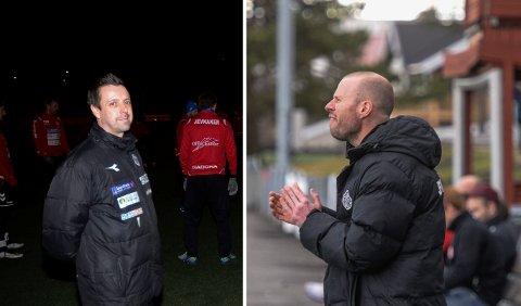 KLARE FOR HBK: John Menzies og Fredrik Palerud Hansen blir en del av HBKs trenerstab denne sesongen.