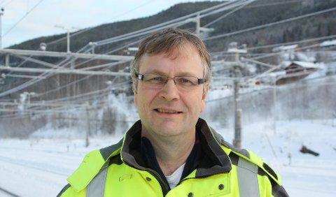 NABOINNSPILL: Prosjektleder Bjørn Ludvig Søgnen har fått nyttige innspill fra naboene mellom Hønefoss og Follum.