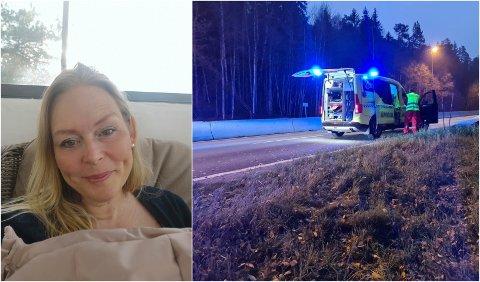 HJELPSOM: Kristine Næss startet spleisen fordi mannen, som fortsatt er på sykehus, har vært så hjelpsom overfor alle andre.