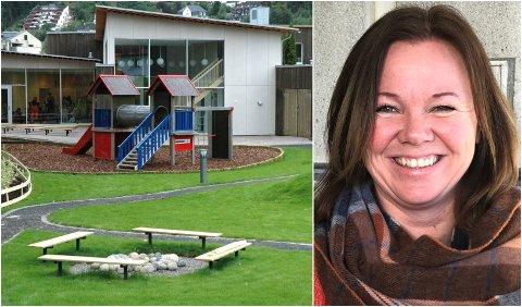 IKKE BEKYMRET: Enhetsleder Heidi Aareskjold Fredriksen er ikke bekymret for at smitten skal spre seg til andre avdelinger.