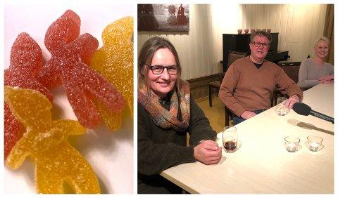NOE Å TENKE PÅ: Den såkalte seigmann-testen ble et tema da Karin Møller, Rolf Qvernheim og Marthe Bergli svarte om korona på ringblad.no.
