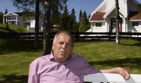 VILJE: Svein Solheim har stor tro på at det er vilje til å støtte kapellet på Sollihøgda.