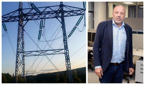 KRAFTRIKET BLIR ENDA STØRRE: Styreleder i Kraftriket, Ole Sunnset, skal pensjonere seg. Men før den tid, får han trolig oppleve at Kraftriket har vokst seg til å bli landets største strømselskap.