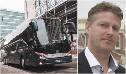 REDUSERER ANTALL AVGANGER: Vy reduserer antall avganger mellom Notodden og Oslo. - Det er helt elendig, sier Jon Terje Veseth (Innfelt)
