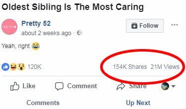 Etter at denne skjermdumpen ble tatt har videoen bikka 22 millioner visninger.