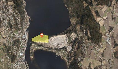 SIER JA: Byrådet i Oslo anbefaler bystyret å selge dette friområdet på Verket til Asker kommune.