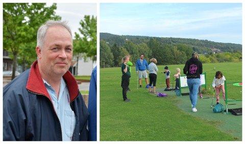 BEKYMRET: Bjørge Aass er bekymret for rekrutteringen til allidretten.