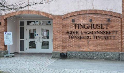 FENGSLET: Sandefjordingen fikk fire nye uker i varetekt i mandagens fengslingsmøte i Tønsberg.