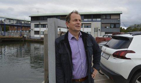GUNSTIG: En veiforbindelse mellom Sandefjord og Nøtterøy over Vestfjorden kan være gunstig både lokalt og regionalt, mener Bjarne Sommerstad (Sp).