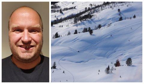 BED OM INNSPEL: – Eit område regulert for snøscooterkøyring vil heilt klårt løysa problematikken på ein betre måte enn det som er tilfelle i dag, seier Svein Jarle Slinde (Sp), og oppmodar grunneigarar og andre om å spela inn aktuelle område.