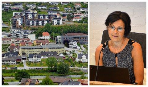 TRENG INNTEKTER: Rådmann Ellen Njøs Lillesvangstu meiner at i lys av den økonomiske situasjonen må inntektene frå eigedomsskatt aukast maksimalt.