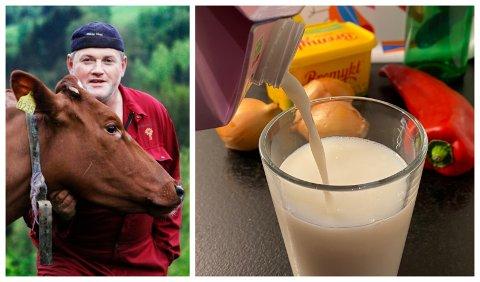 UNDER LANDSSNITTET I SOGN: Nordmenn drikk meir mjølk, Per Hilleren oppmodar sognebønder til å fylla kvotane sine.