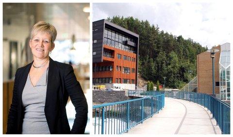 CAMPUS: - Campus Sogndal forblir ope som normalt, seier prorektor i HVL, Bjørg Kristin Selvik. Ho understrekar at aktivieteten allereie er svært redusert.