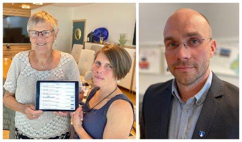 POSTLISTE: Marta Vange og Siv Bøthun i reagerer på at Vik kopierer Sogndal sitt postlistestystem. Eit system fungerande kommunaldirektør Tor Einar Skinlo i Sogndal ikkje er nøgd med sjølv.