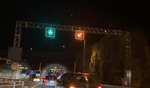 ÅPNET ET FELT: Like etter 19:30 åpnet et felt i løpet fra Hundvåg til Solbakk.