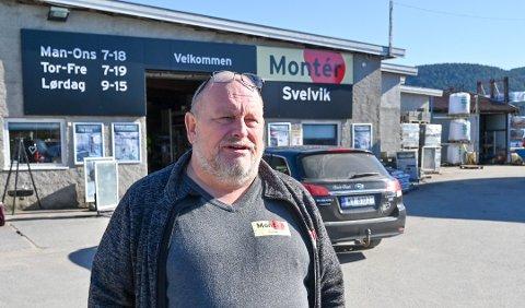 Jan Werner Hansen i Montér Svelvik forteller at mange har brukt korona-tiden til å pusse opp. Det bekreftes av en undersøkelse gjort for forsikringsselskapet Frende.