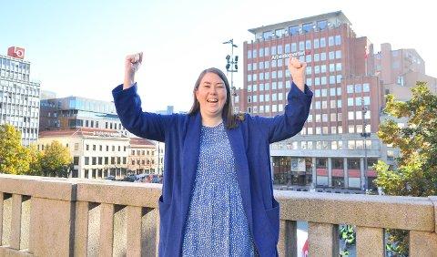 Astrid Willa Eide Hoem er nå offisielt leder av AUF.