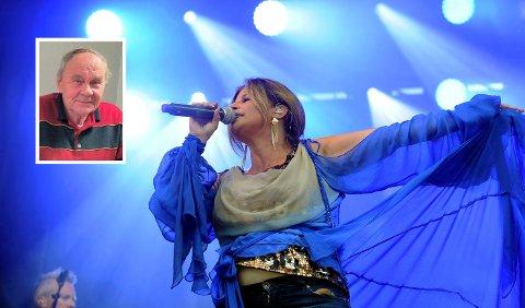 CAROLA: Gunnar Lofstad reagerer på at Johnny Peeters gitt ut med boikott av Carolas konsert på Fjordfesten på grunn av tidligere uttalelser hun har hatt om homofili.