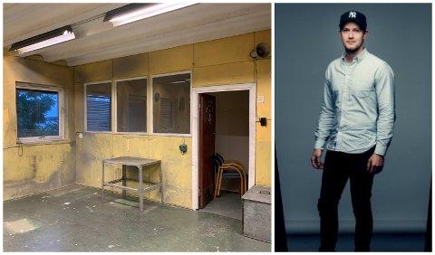 REALISERT DRØMMEN: Georg Aamodt (28) åpnet i november sitt splitter nye fotostudio. – Du skulle ikke trodd hvordan det så ut her før.