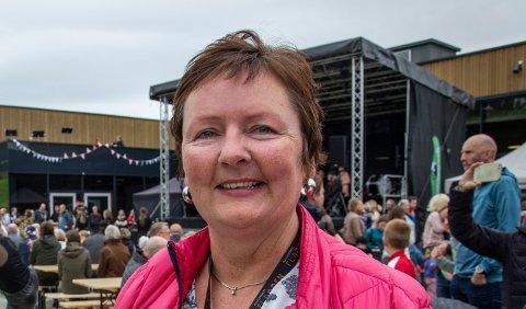 TREÅRSVEKST:Daglig leder Mariann Torsvik i Kulturverket Flammen økte aktivitetsnivået også i tredje driftsår for Kulturverket Flammen.