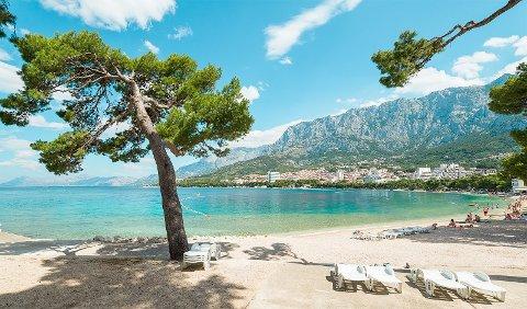 MAKARSKA: Charterhotellene inntar i stadig større grad Makarska Riviera.