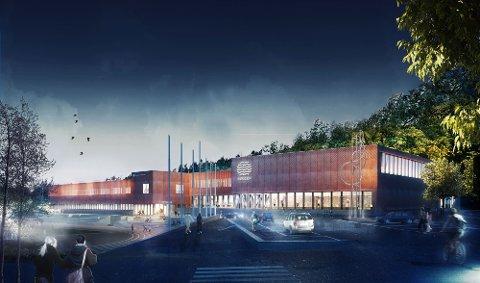 KLART TIL BRUK: I midten av januar kan folk slippe inn i det nye anlegget på Seiersten.