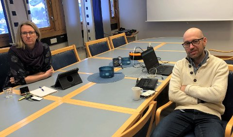 BER OM RESPEKT: Ordfører Merete Myhre Moen og kommuneoverlege Tor Halvor Bjørnstad-Tuveng anmoder på det sterkeste at tilreisende til regionen går i karantene i 14 dager.
