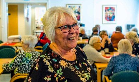 Sekretær Anne-Berit Nerland i Nordby Eldresenter.
