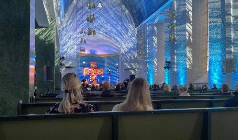 I dag var det minnesmarkering for 22. juli i Molde domkirke.