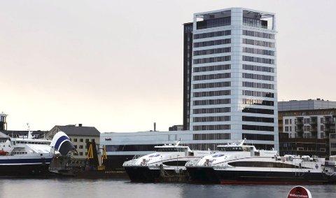 Kutter: Scanic-kjeden gjør store grep for å kutte i plastforbruket. Her fra Scandic Havet i Bodø.