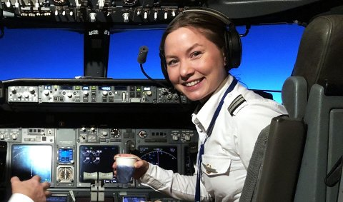 I Streik:  Ingrid Gulstuen Krogh(28) fra Bodø er pilot i SAS.