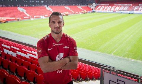 Veton Berisha har signert for Brann.