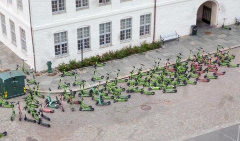 Fagfolkene mener det er lurt å redusere antallet løperhjul som kan være i sentrumsområder.