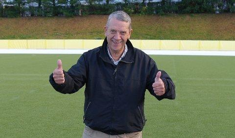 Jostein Haugvaldstad håper mange tar turen til Mastrahuset lørdag kveld når Mastra Idrettslag inviterer til voksentreff.