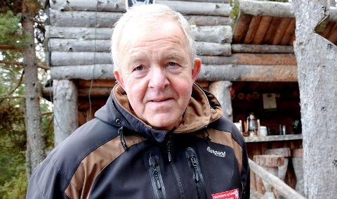 TURGENERAL: Hans Petter Eriksen har ledet flere hundre turer i nærmiljøet i regi Turistforeningen og «Ut på tur Modum og Sigdal». I dag deler han fem turforslag med Bygdepostens lesere.