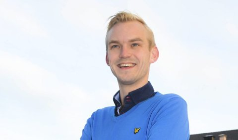 ORDFØRERKANDIDAT: Adrian Tollefsen er Høyres ordførerkandidat i Øvre Eiker.