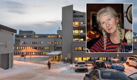 SINT: Randi Sivertsen er lite fornøyd med at hun ikke fikk endret på flybillletten sin.
