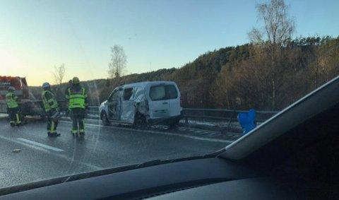 I autovernet: En trafikkulykke skaper kaos på E6 mot Strømstad.