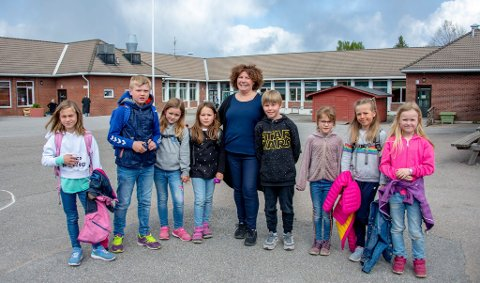Siste uker som rektor: Ele Marit Barth-Hansen går av med pensjon til sommeren, etter 20 år som rektor på Borge skole.